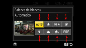 Donde Encontrar El Balance De Blancos Nikon